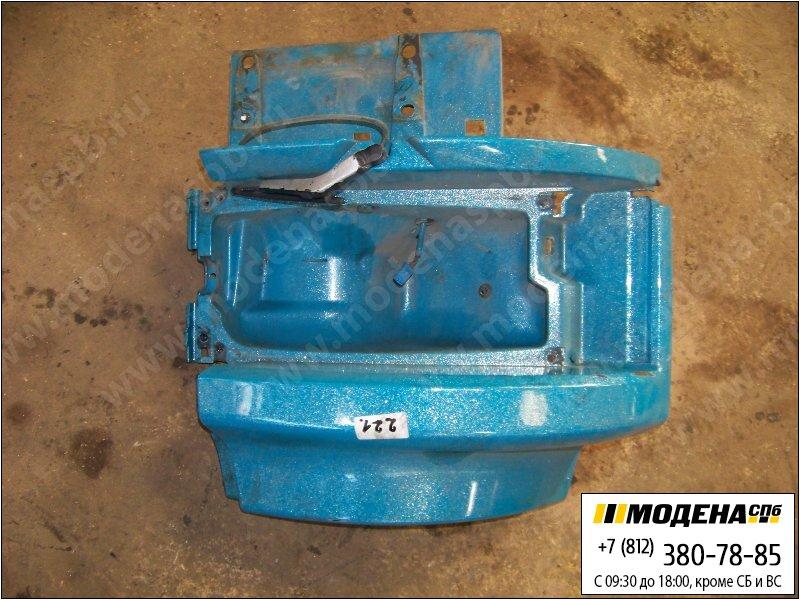 запчасти scania Корпус фары правой, цвет синий  1543635