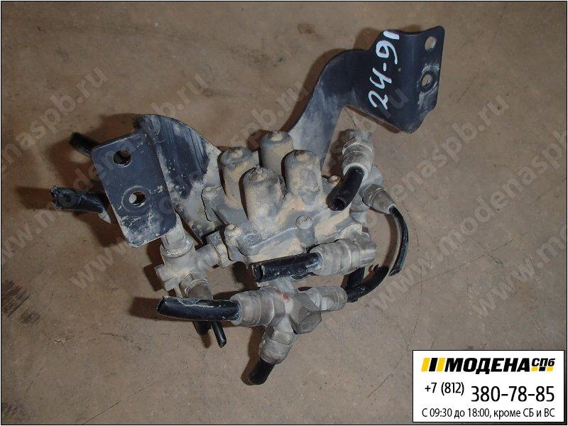 запчасти scania Кран клапан защитный четырехконтурный  Wabco 9347141280