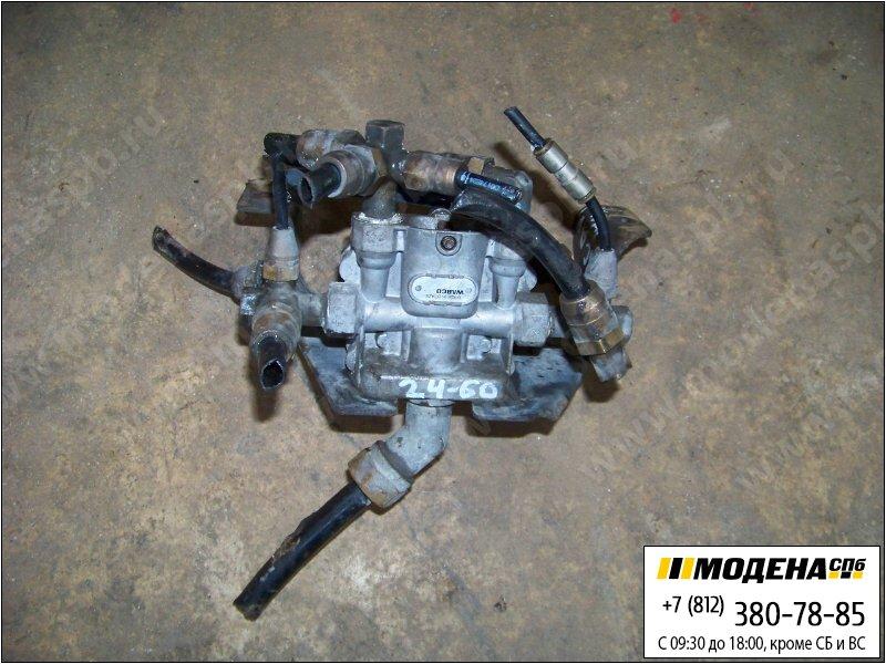 запчасти scania Кран клапан защитный четырехконтурный  Wabco 9347142110