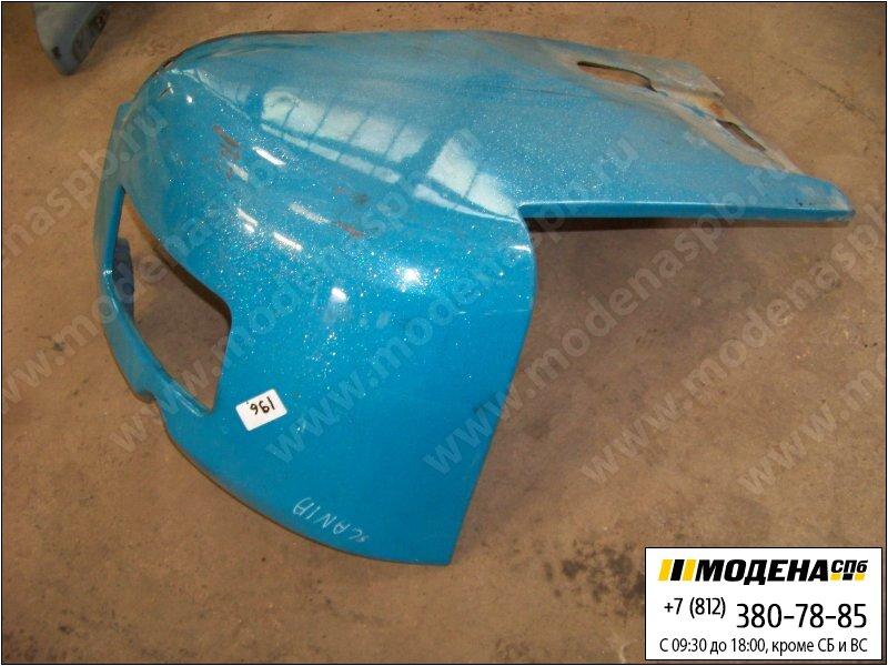 запчасти scania Накладка переднего бампера правая, цвет синий  1324598