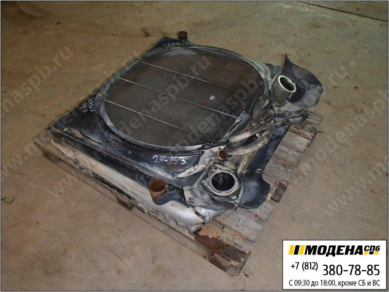 запчасти scania Радиатор двигателя и кондиционера с интеркулером в сборе  1516491