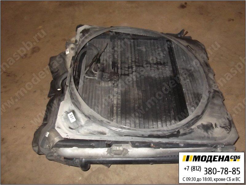 запчасти scania Радиатор двигателя с интеркулером в сборе (860x940x42mm)  1764886