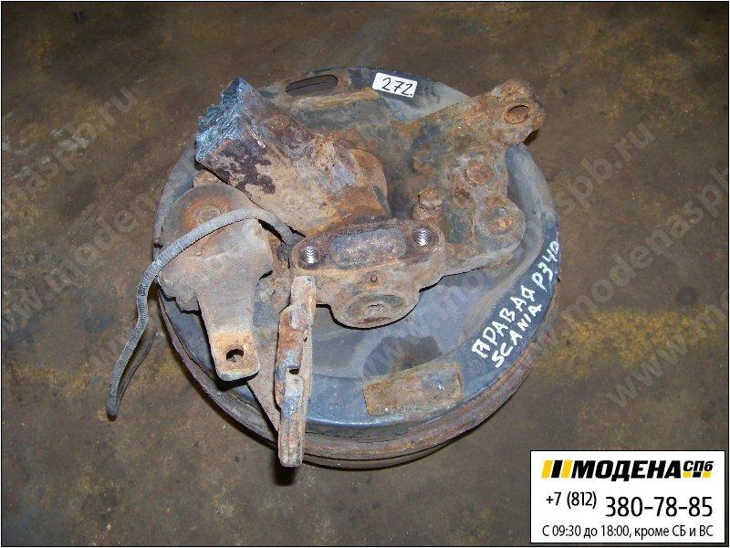 запчасти scania Ступица передняя с тормозным барабаном правая  1414152