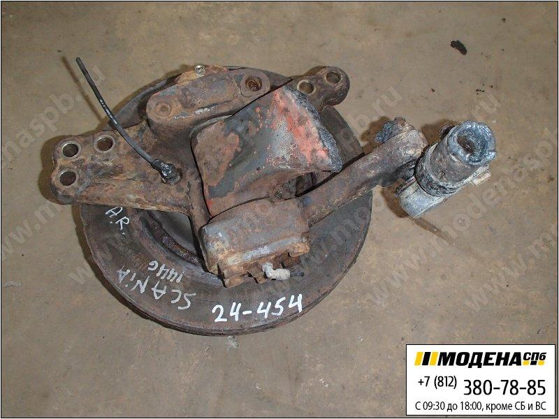 запчасти scania Ступица с тормозным диском правая передняя  1895928