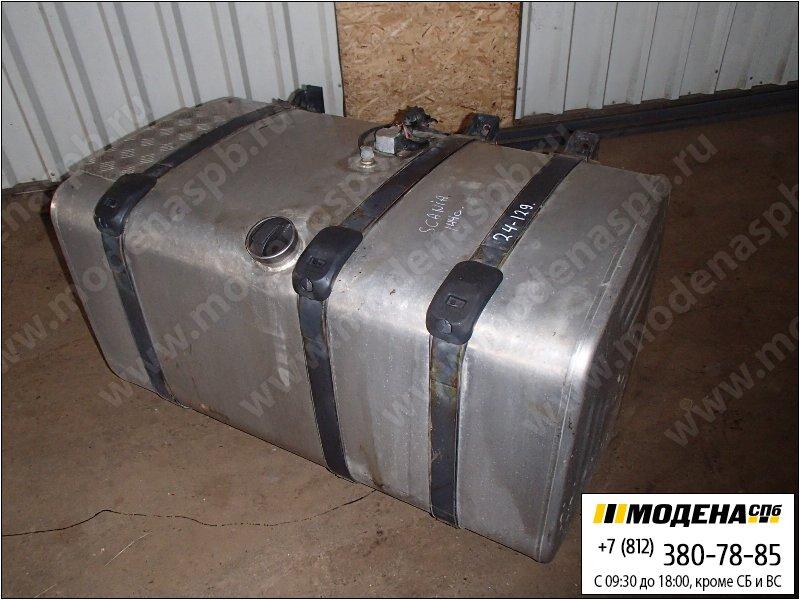 запчасти scania Топливный бак 500 литров с топливозаборником, крышкой и крепежом (алюминий)  1517307
