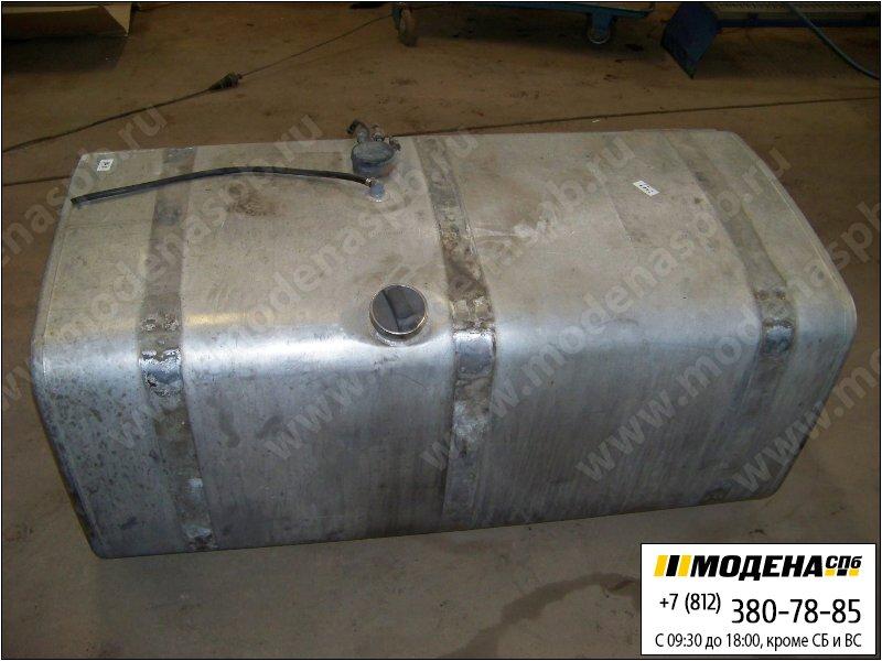 запчасти scania Топливный бак 600 литров (1480х710х680) с топливозаборником и крышкой (алюминий) (крепеж отдельно)  1423690