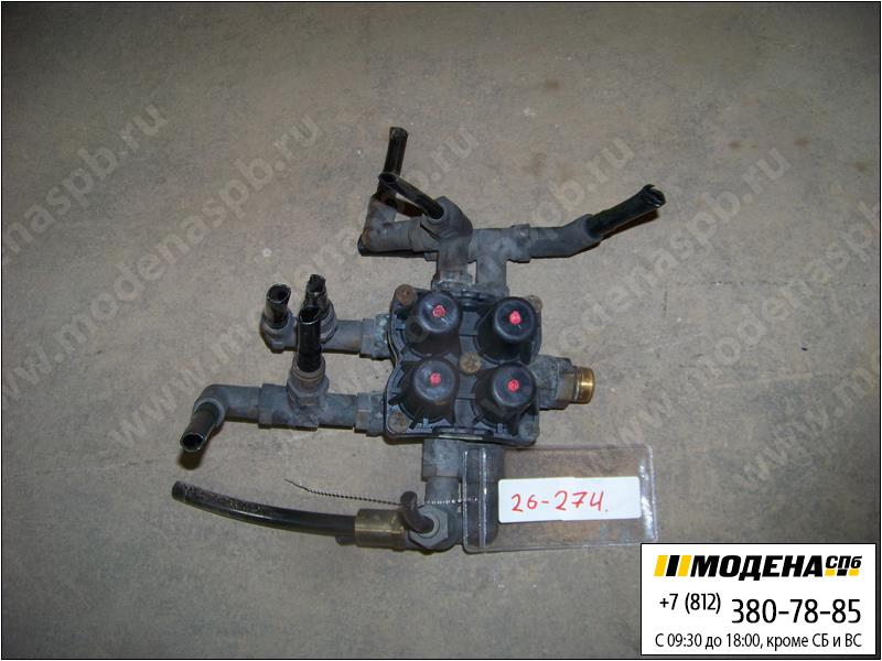 запчасти volvo Клапан защитный четырехконтурный  20755195
