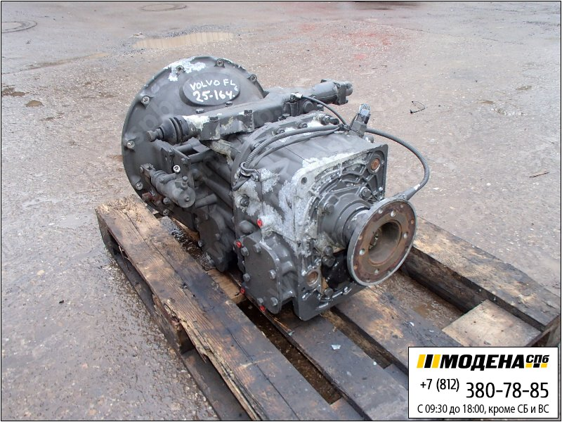 запчасти volvo Коробка передач механическая EATON FS 4106 BV  Y04213/300