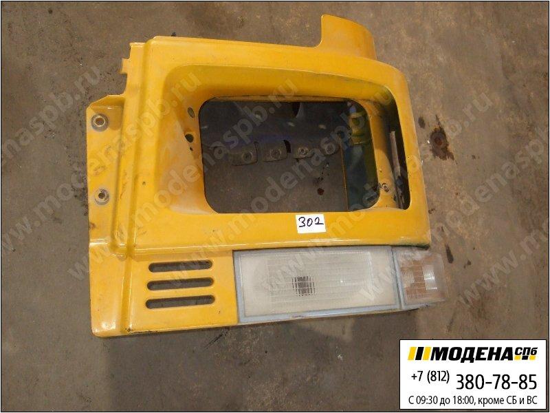 запчасти volvo Корпус фары левой с поворотником (с дефектом), цвет жёлтый  8191561