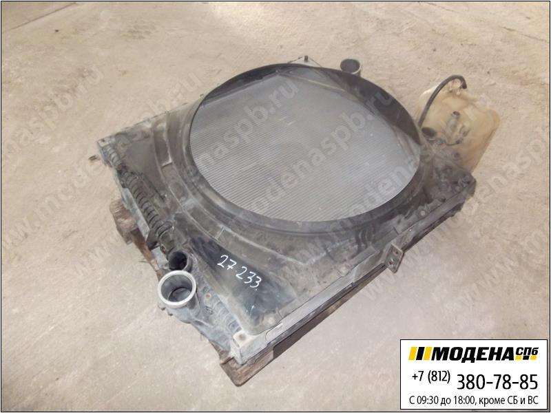 запчасти volvo Радиатор двигателя с интеркулером в сборе  20758820