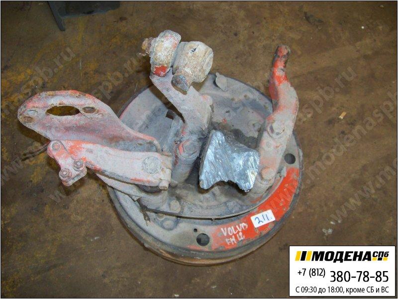запчасти volvo Ступица передняя левая с тормозным барабаном и энергоаккумулятором  1626994