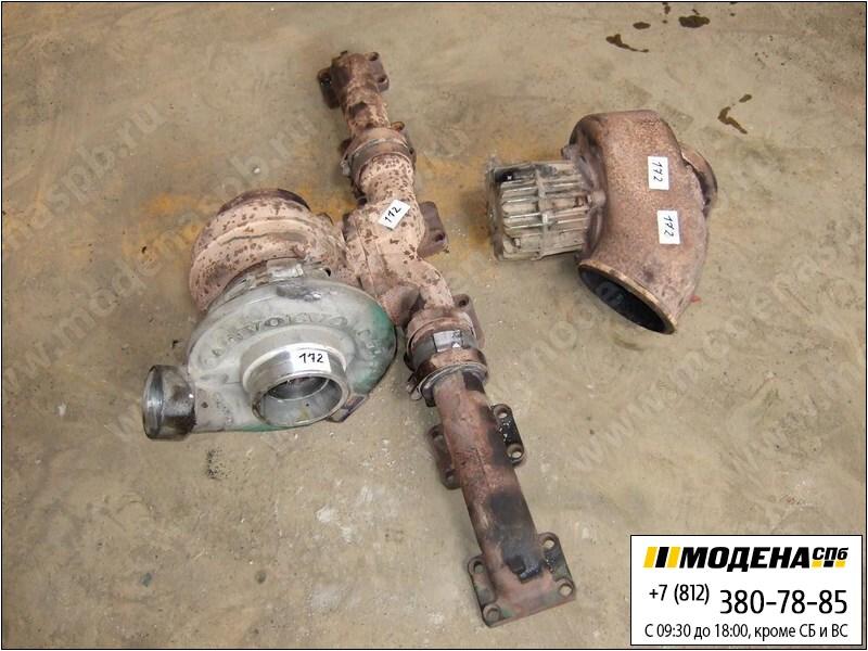 запчасти volvo Турбина с коллектором в сборе HX 55  20722238